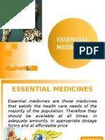 6. Essential Medicines