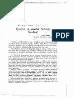 Cemil Meriç - Sosyalizm Ve Sosyoloji Tarihinde Proudhon