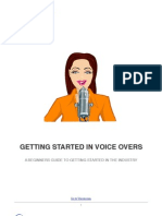 Getting Started in Voice Overs