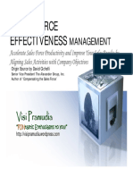 Effective Sales Force Mgt