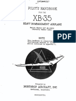 HB-18 - Pilot's Handook for the XB-35 Heavy Bombardment Airplane