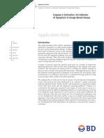 Caspase-3 Activation an Indicator