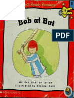 Phonics Ready Readers, Bob at Bat Story