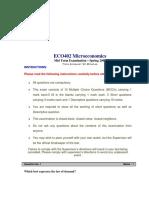 Microeconomics - ECO402 Spring 2006 Mid Term Paper