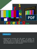 Color Signal Processing