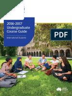 International Undergraduate Course Guide 2016 17