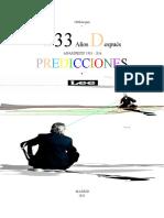 1000Arepas - ANAMNESIS 33 - Predicciones 2016