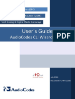 LTRT-52350 CLI Wizard Utility User's Guide