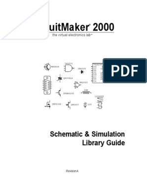 CircuitMaker Schematic & Simulation Library Sch&Sim_libraries