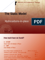 011 - The Static Model, Hydrocarbons in Place