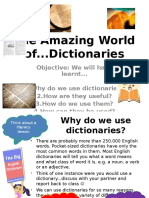 The Amazing World of Dictionaries