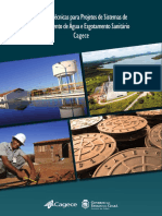 Caderno de Normas Tecnicas Para Projetos SAA e SES - CAGECE(v2)