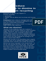 Indg377 - How to Reduce Exposure to Dioxins in Aluminium Recycling