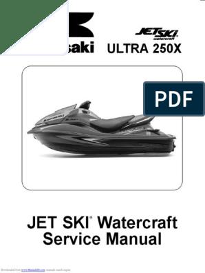 kawasaki Ultra 250x manual de taller pdf   Screw   Exhaust Gas