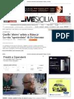BRUNO FRANCESCO Quello 'Sbirro' Urlato a Riina Jr La Vita _spericolata_ Di Di Giacomo - Live Sicilia