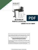 Ricoh Aficio_SPC830_831DN parts manual