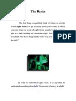 Night Vision Theory