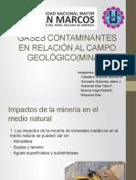 Gases Contaminantes en El Campo Geologicominas5