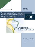 Microcefalia Protocolo de Vigilancia e Resposta v1