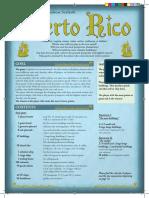 Puerto Rico GameRules