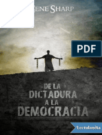 De La Dictadura a La Democracia - Gene Sharp