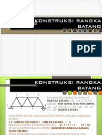 Konstruksi Rangka Batang