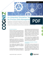 An Integrated Simulation Tool Framework for Process Data Management