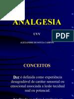 Analgesia Dor Uvv