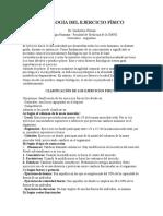 FISIOLOGÍA DEL EJERCICIO FÍSICO