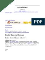 Broiler Breeder
