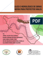Diseno Hidraulico e Hidrologico de Obras de Ingenieria