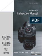 manual canon Hfm56 Hfm506 Im p En
