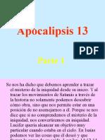Apocalipsis 13 Parte 1,