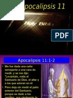 Apocalipsis 11 Los Dos Testigos