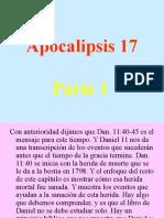 Apocalipsis 17 Parte 1,