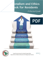 Ethics Handbook for Residents