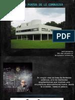 Los Cinco Puntos de Le Corbusier sobre Arquitectura