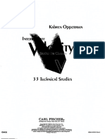 Intermediate Velocity Studies - Kalmen Opperman