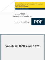 INFS4885, 5885, 2013-S1, Week 04, B2B and SCM