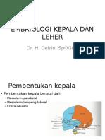 Embriologi Kepala Dan Leher(1)