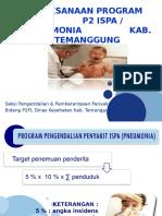 Pelaksanaan Program P2 ISPA/Pneumonia Kab. Temanggung