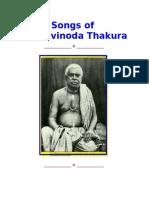 Canciones de Bhaktivinoda Thakur
