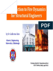 Introduction to Fire Dynamics For Structural Engineers