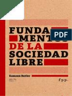 BUTLER E. - Fundamentos de La Sociedad Libre