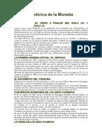 Reseña Histórica de La Moneda Nacional Nicaragua