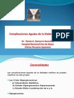 4-Diabetes Mellitus Complicaciones Agudas -Mediii- Hndm