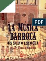OHLSEN VÁSQUEZ, O. - La Música Barroca, Un Nuevo Enfoque