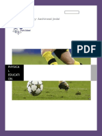 Physical Education Project on football