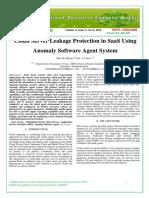 Cloud Server Leakage Protection in SaaS