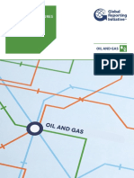 GRI G4 Oil and Gas Sector Disclosures